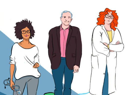 Illustration voeux |URPS médecins IdF